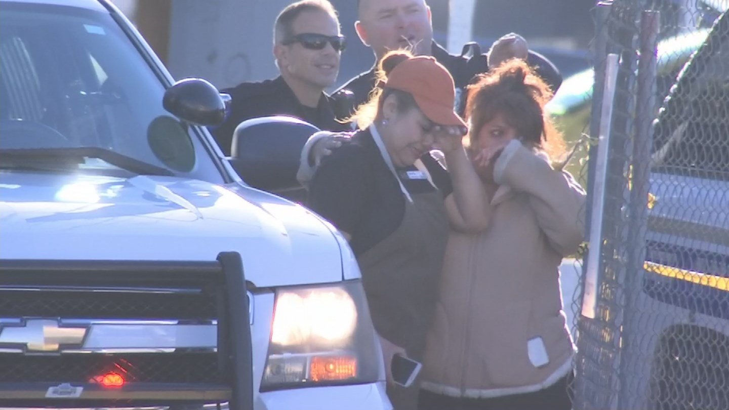 The woman who was driving the truck was distraught and police say she is cooperative. (Source: 3TV/CBS 5)