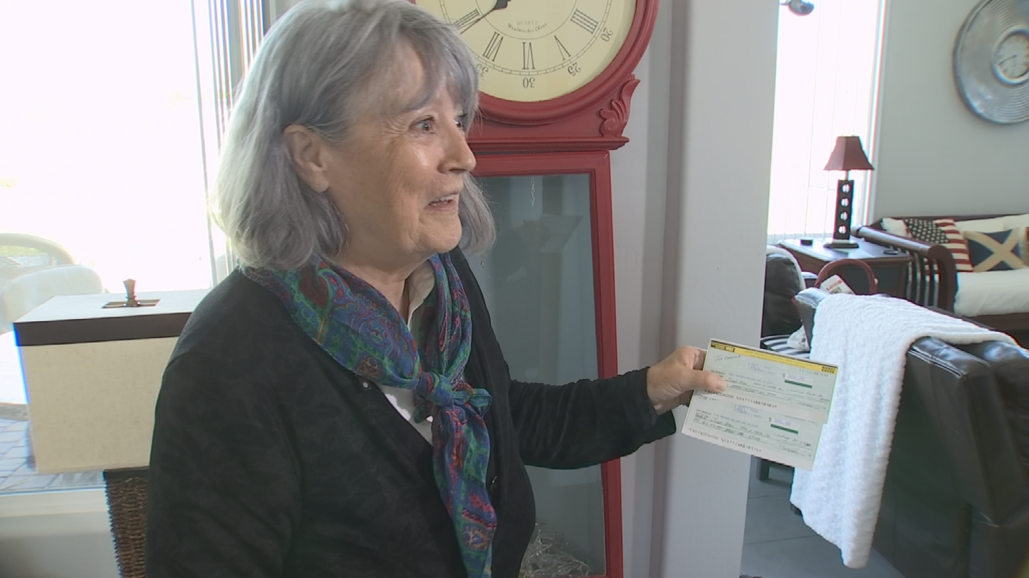 Janet Allen said she finally got her $800 refunded. (Source: 3TV)
