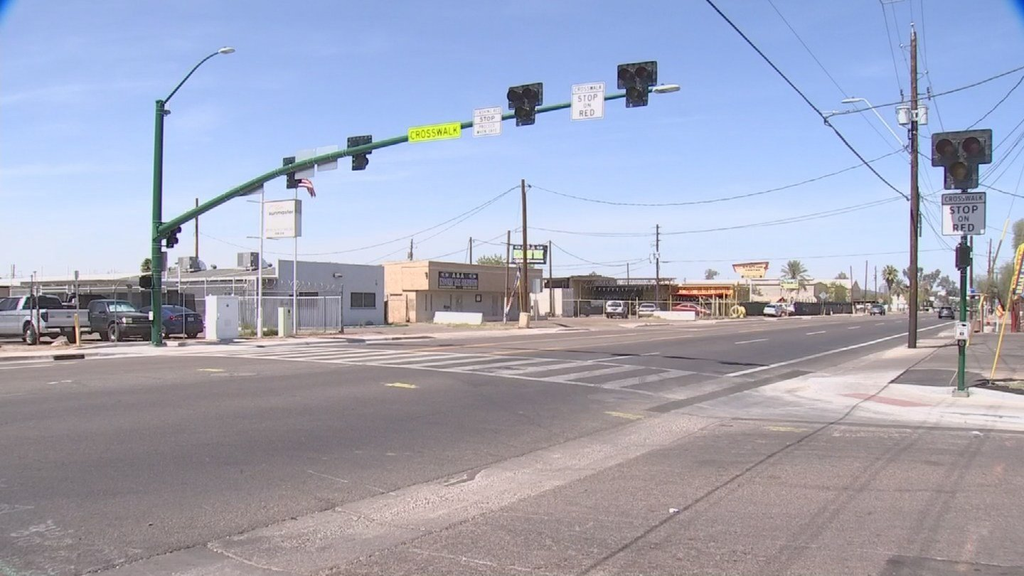 Seventh Street and Jones Avenue, Phoenix (Source: 3TV/CBS 5)