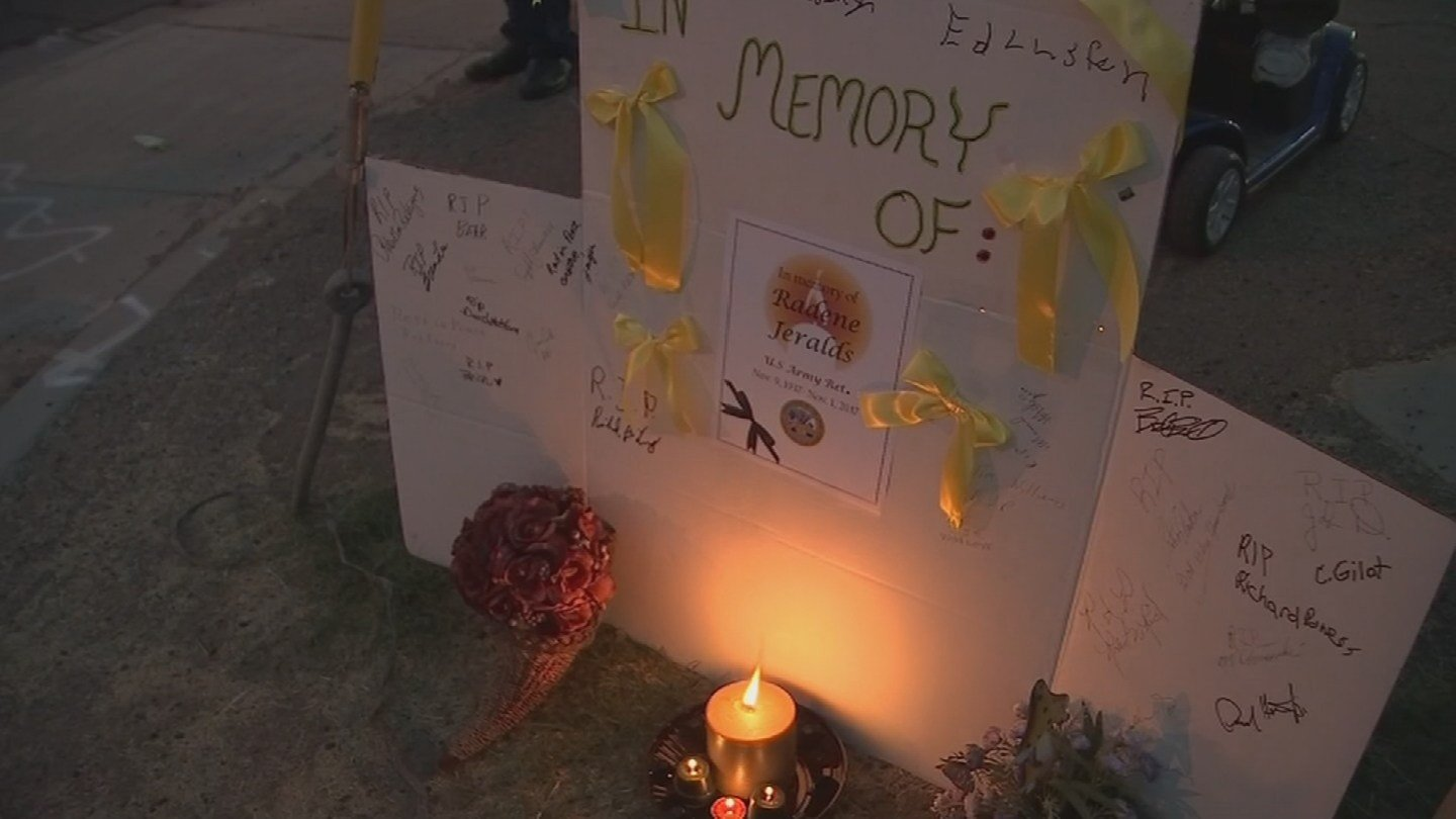 A vigil was held for a man who was hit by s car and killed at that intersection in November. (Source: 3TV/CBS 5)