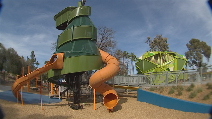 Pioneer Park in Mesa has received some major upgrades. (Source: 3TV/CBS 5)
