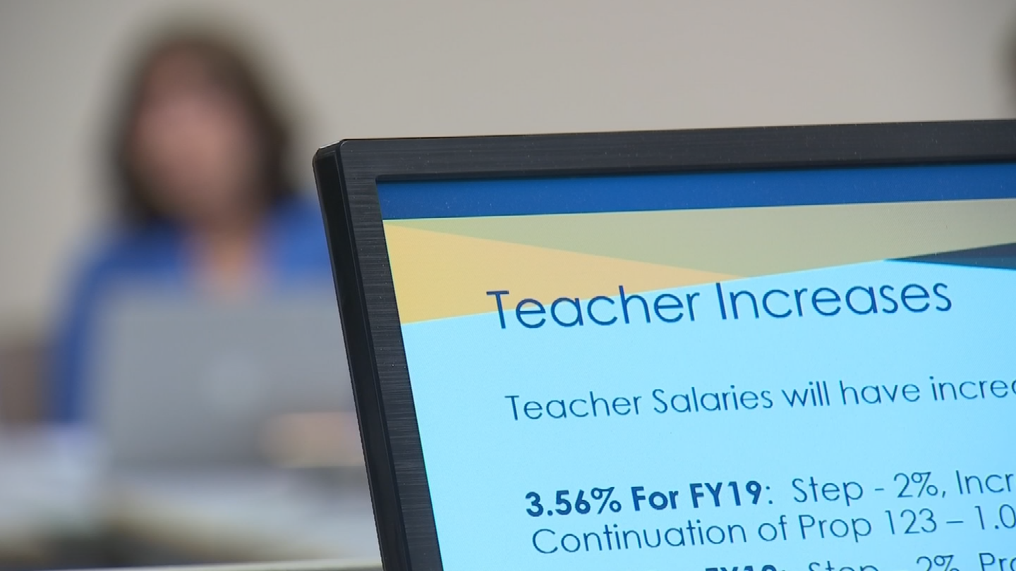 The raise is significantly higher than the 1.06 percent jump planned by the state. (Source: 3TV/CBS 5)
