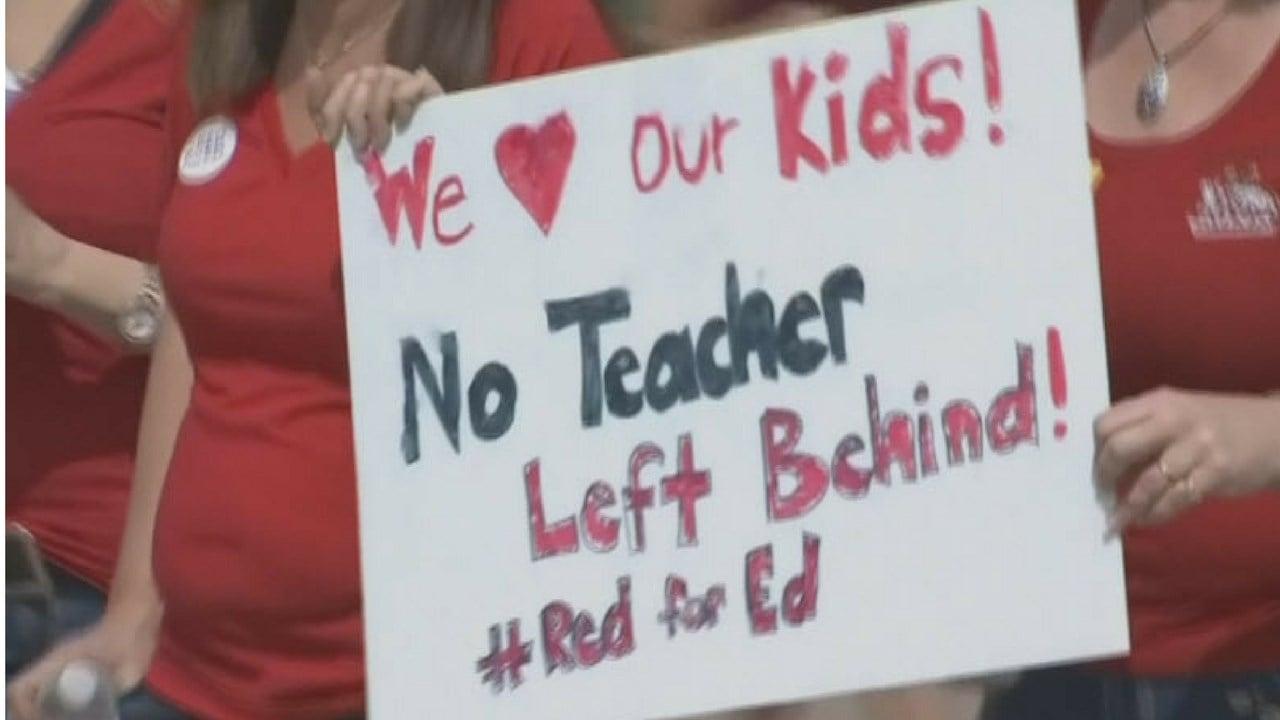 Ducey goes on veto spree to push teacher plan