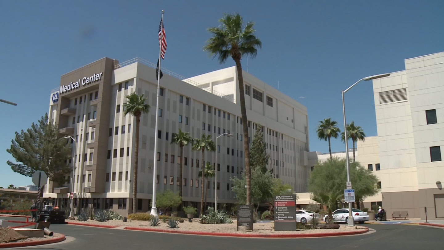 The Phoenix VA has told us that federal law restricts their ability to refer Veterans to this type of research. (Source: 3TV/CBS 5)