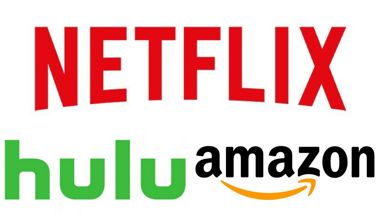 There are more than a dozen streaming services out there like Netflix and Hulu, but which to choose or lose? (Source: Netflix/Hulu/Amazon)