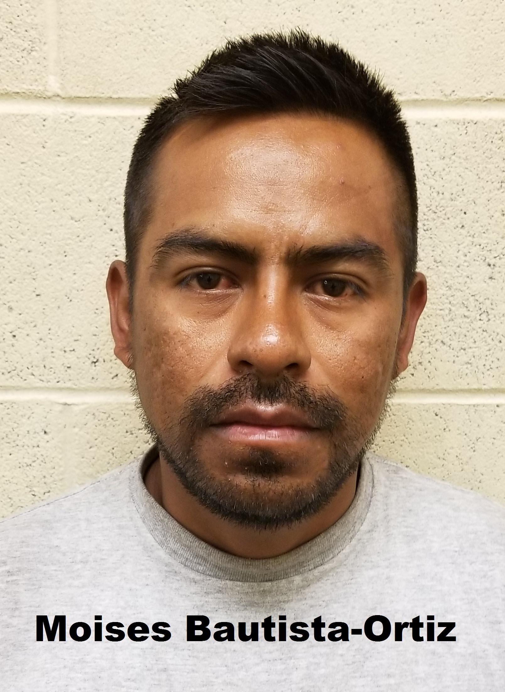 Mug shot of 31-year-old Mexican national Moises Bautista-Ortiz. (Source: U.S. CBP)