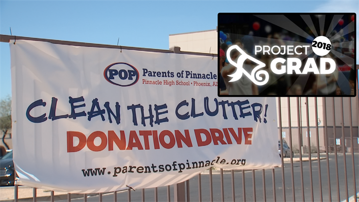 Everyone is encouraged to donate unwanted items to Pinnacle High School on Friday, April 6 from 7 a.m. to 4 p.m. and on Saturday, April 7 from 9 a.m. to 2 p.m. (Source: 3TV/CBS 5)