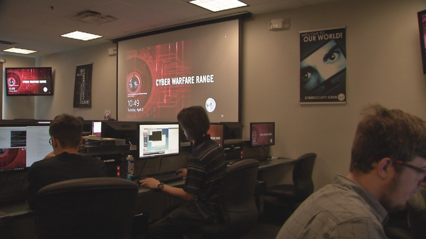 These hackers I met with are students at the University of Advancing Technology in Tempe. (Source: 3TV/CBS 5)