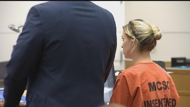 Brittany Zamora, a Goodyear teacher accused of having sex with a 13-year-old student pleaded not guilty to all charges on Friday, April 6, 2018. (Source: 3TV/CBS 5