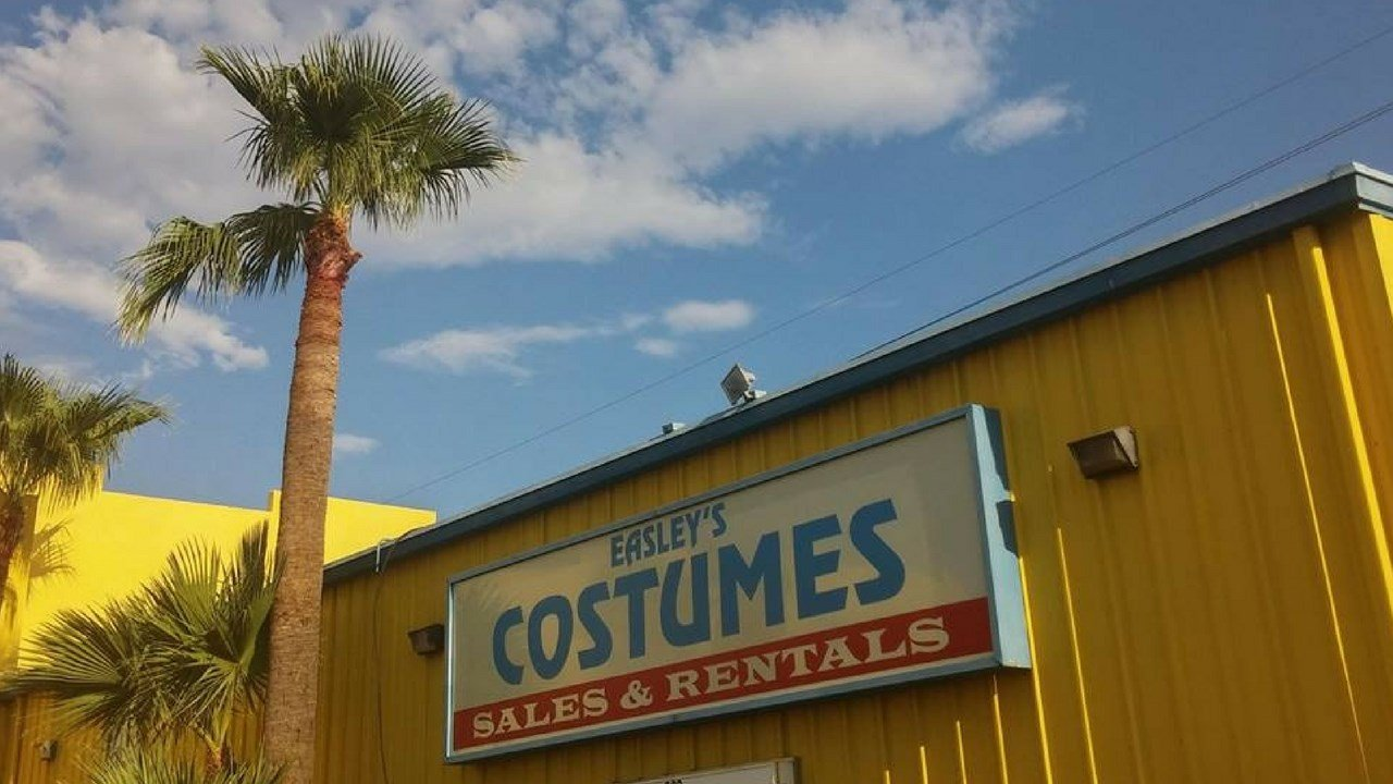 The bright, yellow building on 7th Avenue and McDowell Road holds costumes, theatricalmake up and any accessory you can think of. (Source: Easley's Fun Shop Facebook)