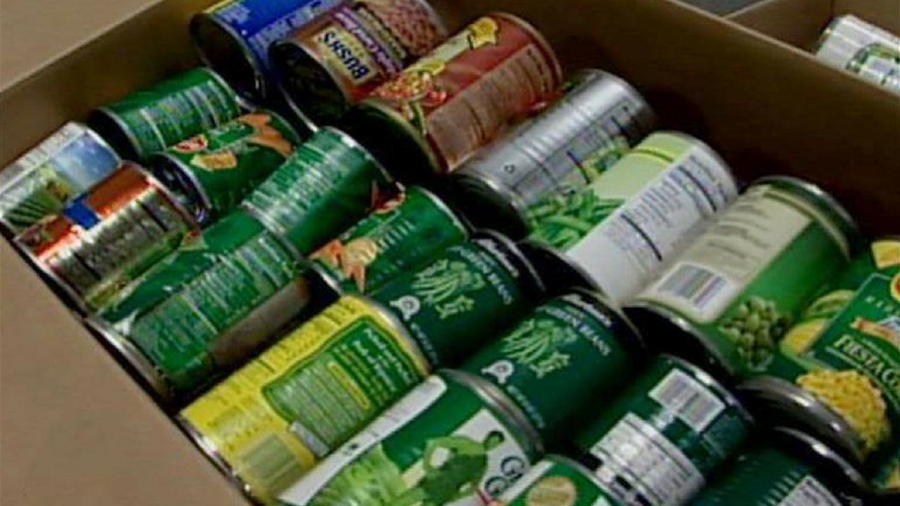 From April 9 to April 28, any branch of the Mesa Public Library will accept non-perishable food items to waive overdue book fines. (Source: AP)