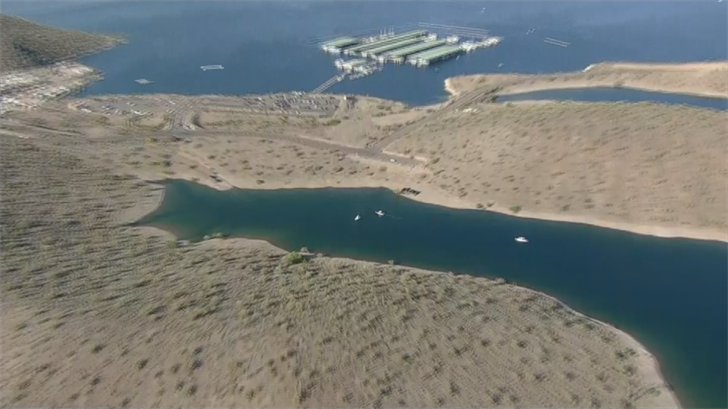 MCSO says the father and daughter were trying swim across Scorpion Cove. (Source: 3TV/CBS 5)