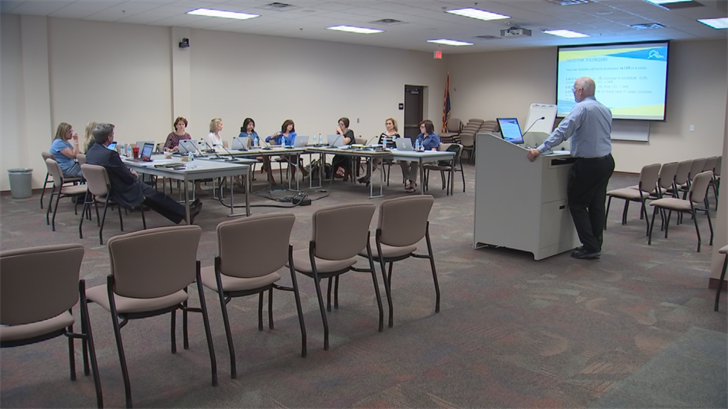 The SUSD Governing Board voted last week to boost teacher pay in that district by 3.5 percent next fall. (Source: 3TV/CBS 5)