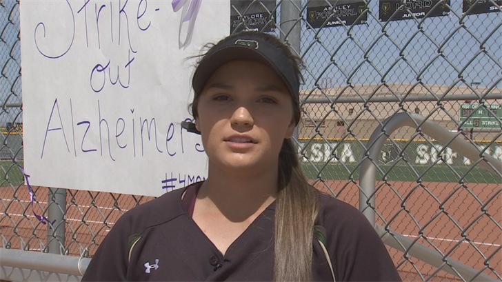 Basha High School and Killer Bees 18U pitcher Kenadee Rausch is one of the best pitchers in the state. (Source: 3TV/CBS 5)