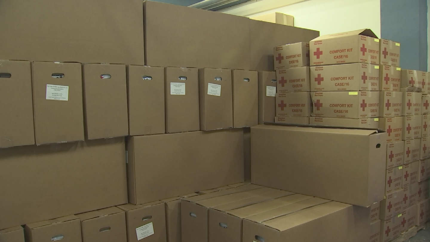 The Red Cross says homeowners should assemble an emergency preparedness kit and create a household evacuation plan that includes your pets. (Source: 3TV/CBS 5)