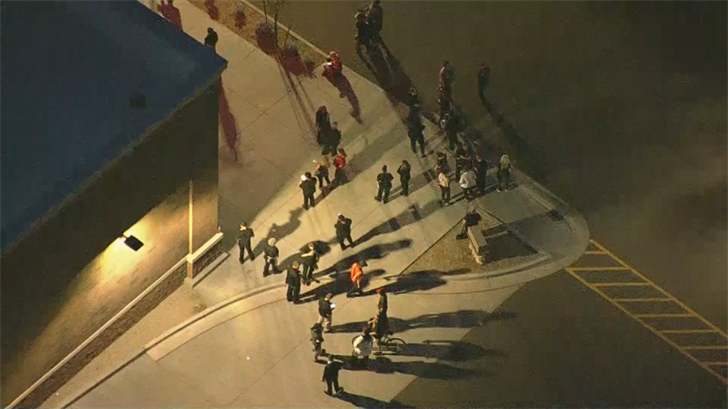 Officers evacuated the store. (Source: 3TV/CBS 5)