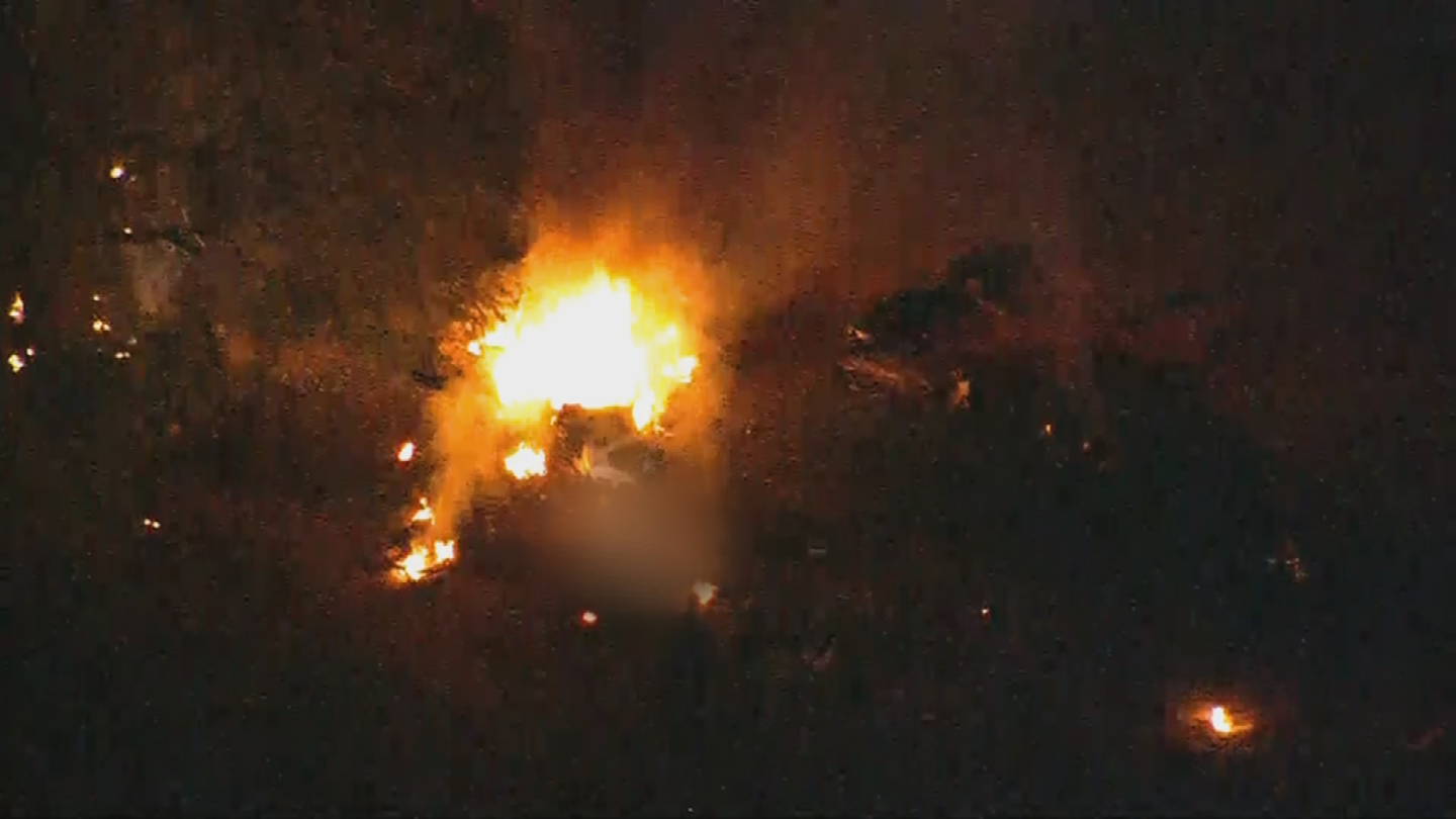 It's unclear what led up to the plane crash. (Source: 3TV/CBS 5)