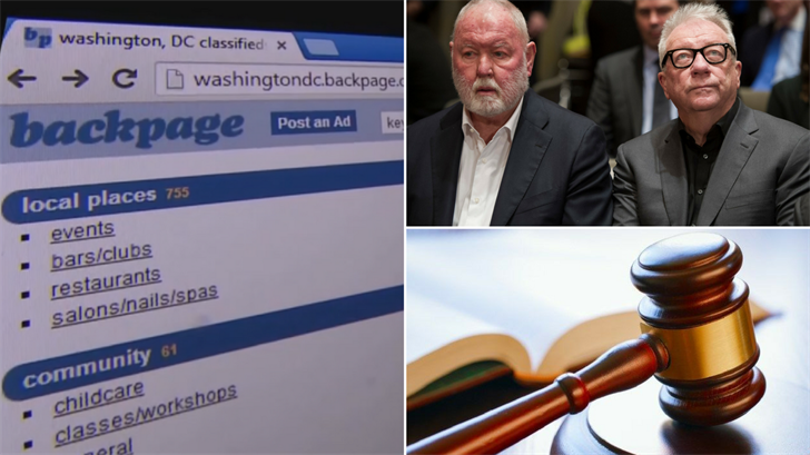 Backpage CEO Pleads Guilty to California Money Charges