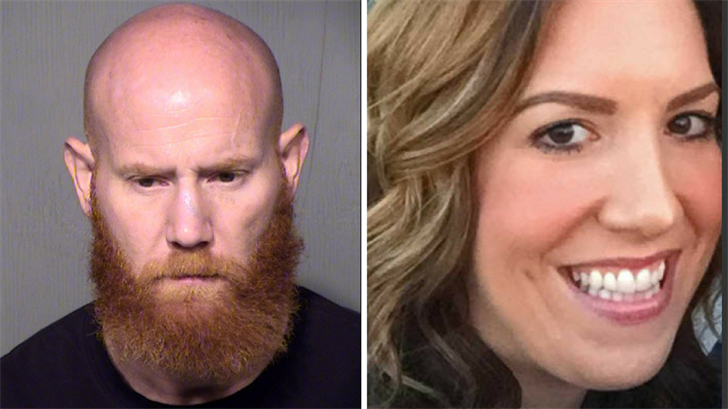Ian Mitcham (left) arrested in connection to the 2015 murder of Allison Feldman (right). (Source: Maricopa County Sheriff's Office/3TV/CBS 5)