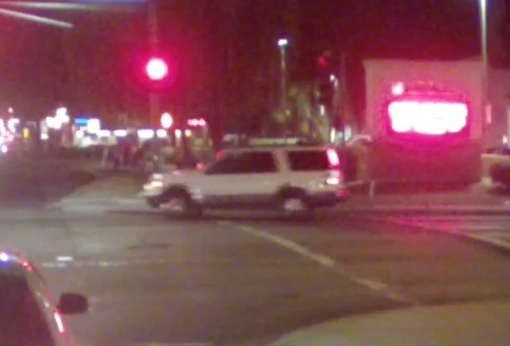 Police said the driver ran a red light and hit Taylor White. (Source: Phoenix Police Department)