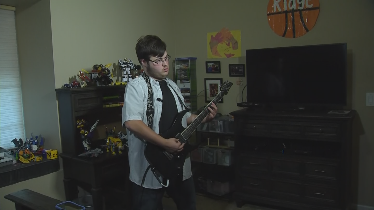 Ridge got inspired to pick up the guitar because of his two brothers who are in a metal band called Corvus. (Source: 3TV/CBS 5)