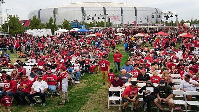 The Cardinals are set to host their draft party on April 26. (Source: Arizona Cardinals)