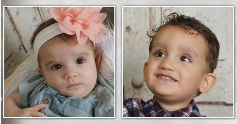 The bodies of Velasquez' children, a 2-year-old boy and infant girl, were found strapped in car seats in a vehicle for nearly 14 hours on March 26. (Source: GoFundMe)