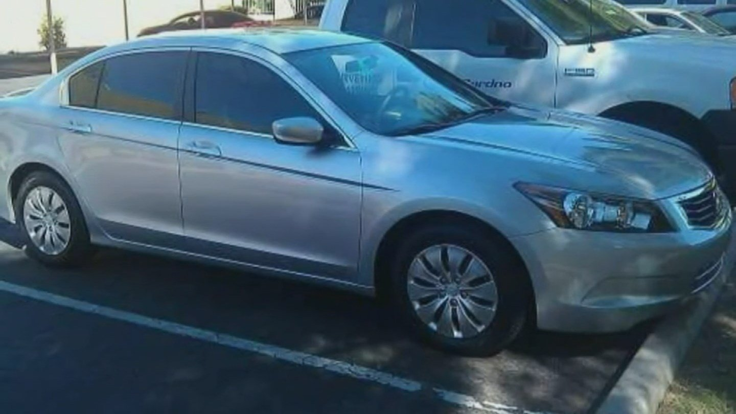 This is the pizza delivery driver's car that was stolen {Source: 3TV/CBS 5)