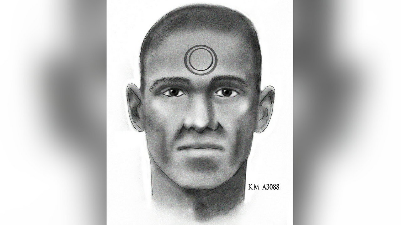 Composite sketch of the suspect police say burglarized a home and killed a dog. (Source: Phoenix Police Department)