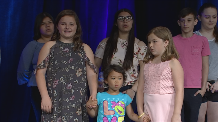 "They strutted their stuff at Children's Cancer Network's signature event called ""Inspirations 2018: Masquerade, a special fashion show. (Source: 3TV/CBS 5)"