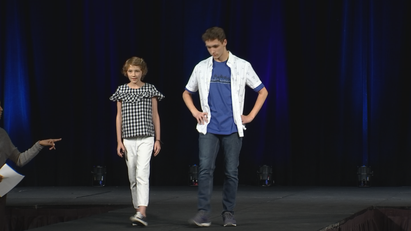 The fashion show raised money for Children's Cancer Network. (Source: 3TV/CBS 5)