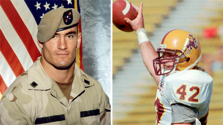 A middle school in Phoenix will soon be named after Pat Tillman. (Source: The Associated Press)