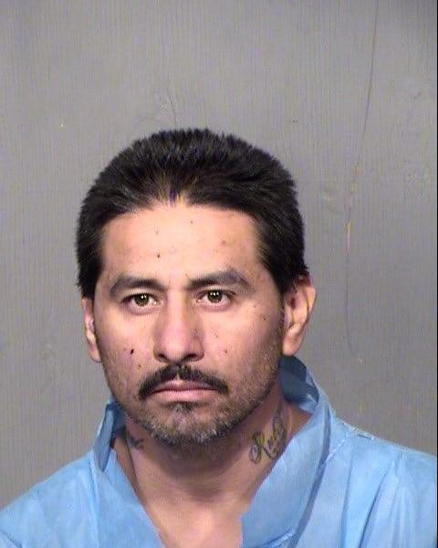 Mug shot of Ruben Alvarez. (Source: Maricopa County Sheriff's Office)