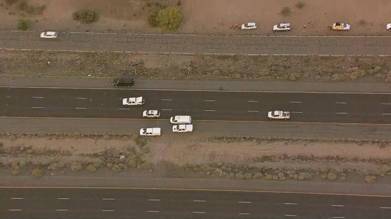 DPS said no involved vehicles were on the scene. (Source: 3TV/CBS 5)