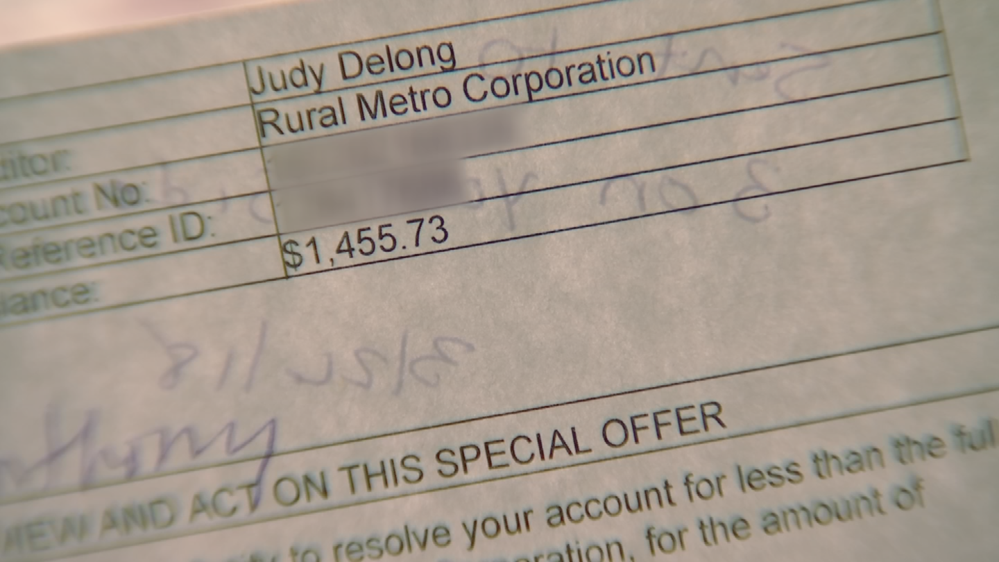 This bill was for more than $1,455. (Source: 3TV)