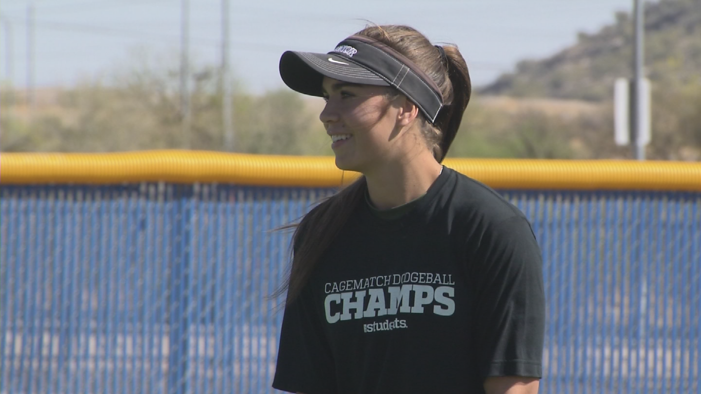 The Eagles are ranked second in Arizona, thanks to in part to shortstop Grace Lyons. (Source: 3TV/CBS 5)