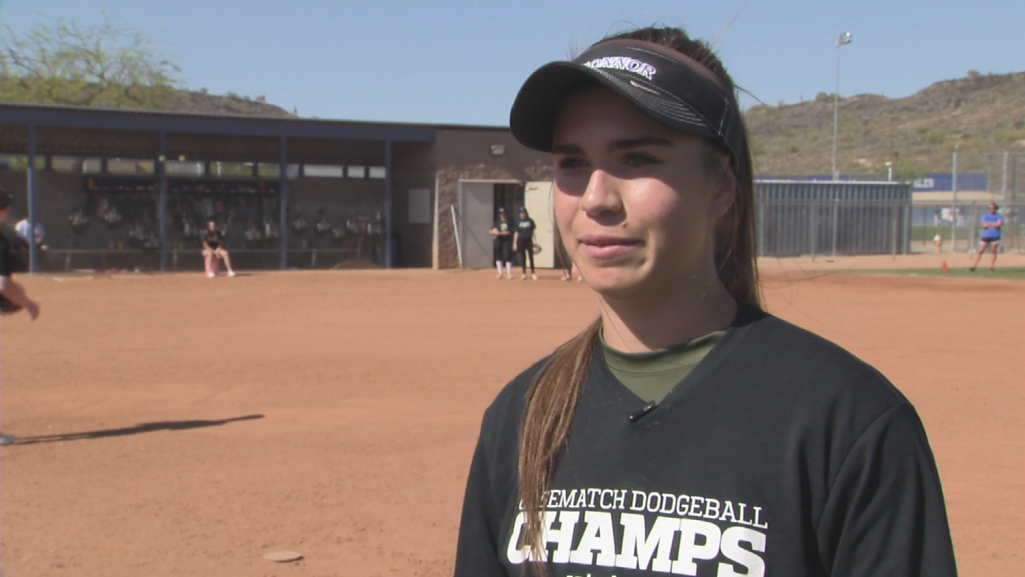 Lyons sets the bar so high, she'll be remembered as the best player in Sandra Day O'Connor history and one of the best in Arizona. (Source: 3TV/CBS 5)