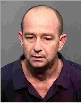Mug shot of 43-year-old Christopher Rock. (Source: Flagstaff Police Department)