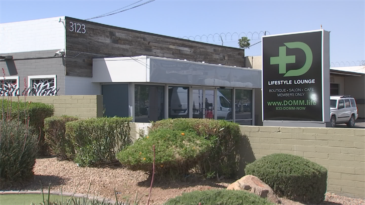The shop is called Domm Life and it was started by cancer survivor Todd Romboli and his wife Amanda. (Source: 3TV/CBS 5)