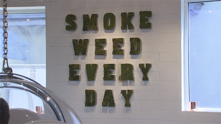 At Domm Life, off of Thomas Road and 31st Street, you can order an espresso, get your hair done, buy clothing andyes, smoke marijuana. (Source: 3TV/CBS 5)