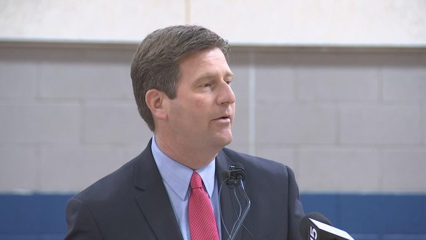 Mayor Greg Stanton spoke at Tuesday's ceremony(Source: 3TV/CBS 5)