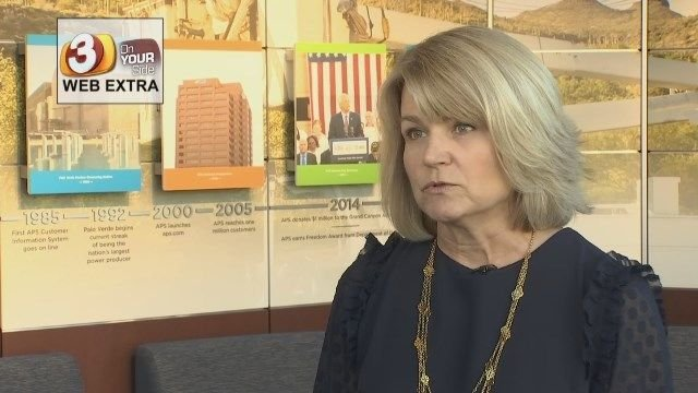 Barbara Lockwood, vice president of regulation for APS (Source: 3TV/CBS 5)