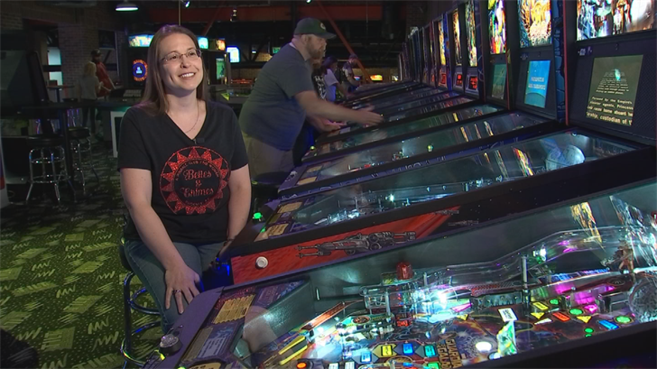Just last month, Lindbergh scored big at the Women's World Pinball Championship. (Source: 3TV/CBS 5)