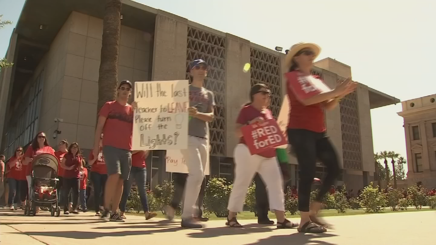 And just as they are supporting teachers, the teachers are supporting the rest of the staff. (Source: 3TV/CBS 5)