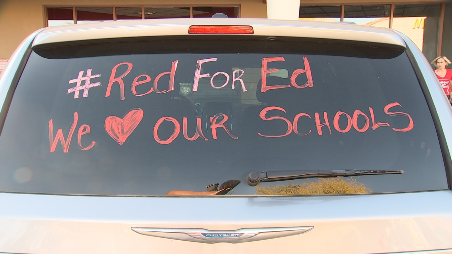 Teachers are thinking about striking because all of the demands haven't been met. (Source: 3TV/CBS 5)