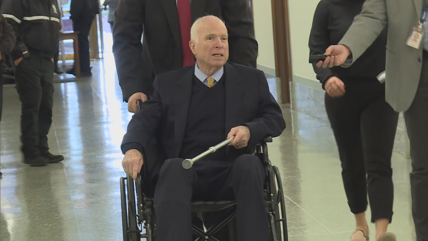 The state Legislature is working to make sure Sen. John McCain's seat isn't on the November ballot. (Source: CNN)