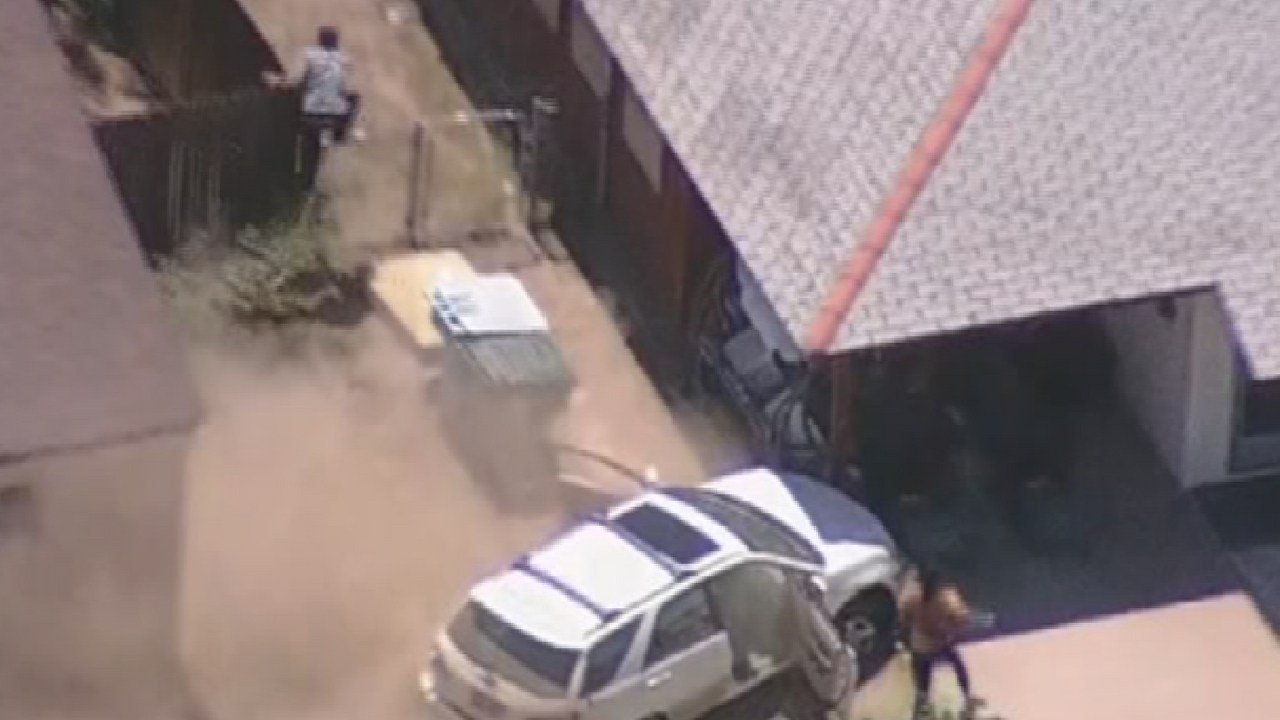 Chase suspect took off and hid in attic until he was apprehended (Source: 3TV/CBS5)