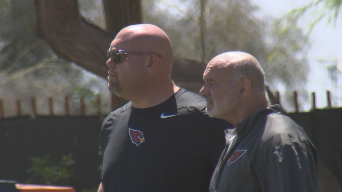 The Cardinals won't show their hand for the draft and talked about their draft philosophy. (Source: 3TV/CBS 5)