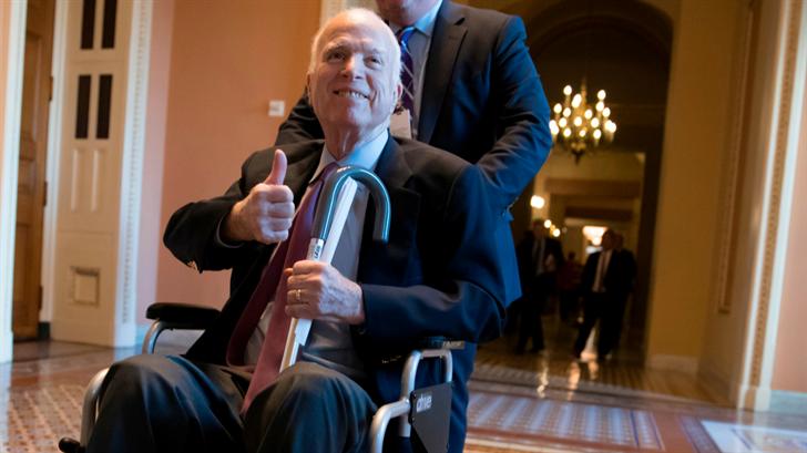 John McCain undergoes intestinal surgery at Mayo Clinic
