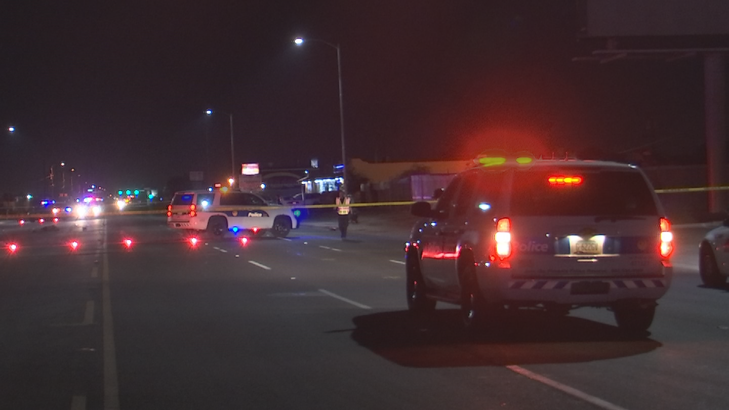 A vehicle struck the man and did not stop, according to the Phoenix Police Department. (Source: 3TV/CBS 5)